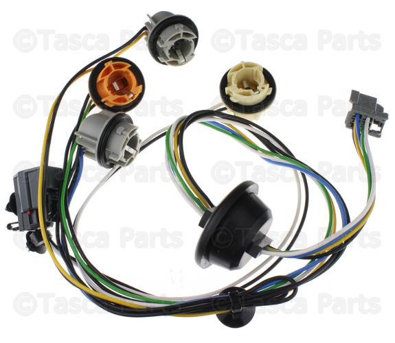 REAR TAIL LIGHT HARNESS, RH (PENGER SIDE)   XC90 Oem Tail Light Wiring Harness on