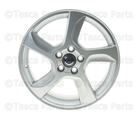 Aluminum Rim Balder 7 X 17in - Silver