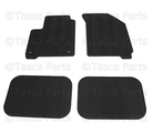 All Weather Floor Mats - Black