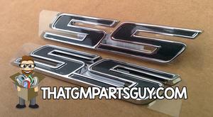 Gen 6 Fifty SS Emblems