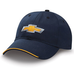 Navy & Gold Bowtie Chevy Hat