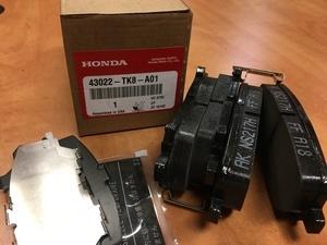Pad Set, Rear Honda Odyssey