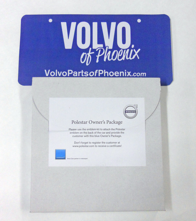 New Genuine Volvo Polestar Emblem Badge