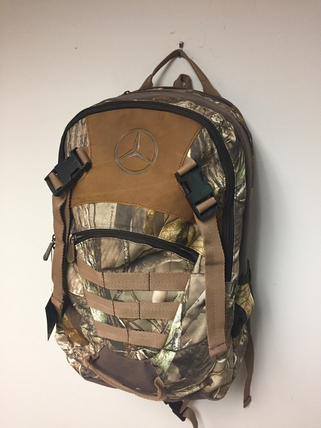 Mercedes Benz Camo Backpack
