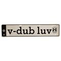 V-Dub Luv Euro Plate