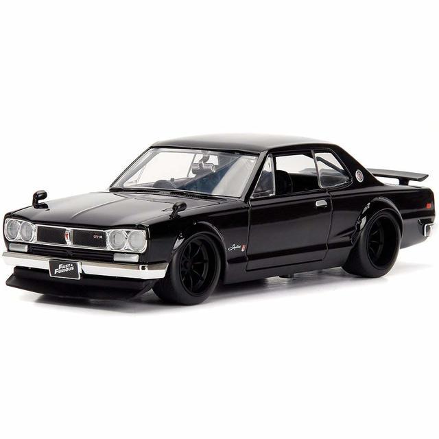 JADA 1:24 FAST & FURIOUS BRIANS NISSAN SKYLINE 2000 GT-R BLACK