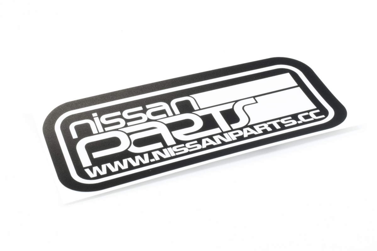 NISSANPARTS.CC RECTANGLE DECAL