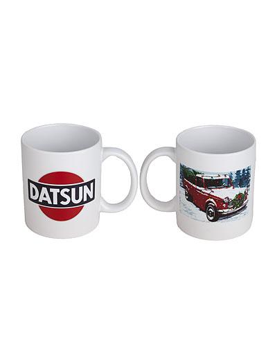 Datsun Truck Holiday Mug