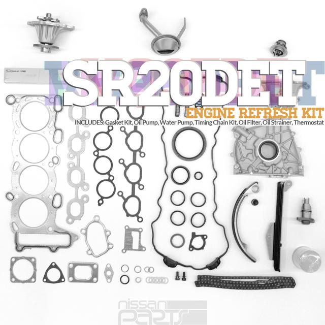 S13 SR20DET ENGINE REFRESH KIT