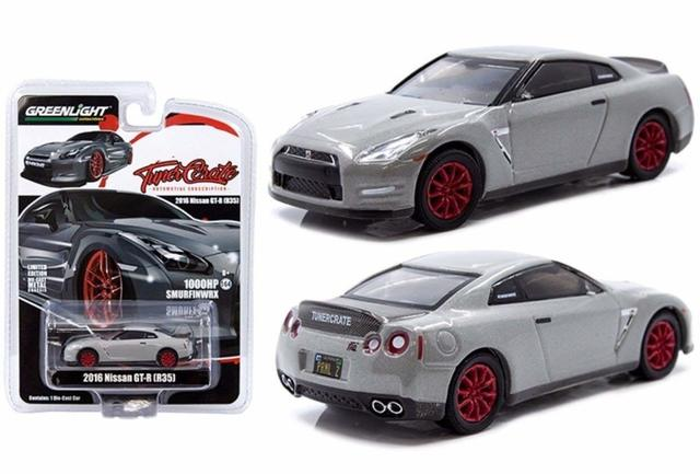 GREENLIGHT 1:64 TUNER CRATE R35 GT-R