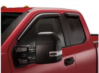 Side Window Deflectors - Smoke - Super Cab