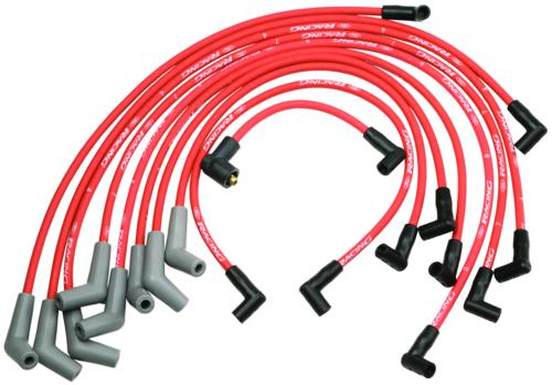 9MM IGNITION WIRE SET RED