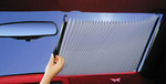 Curtain Sunshade (retractable, semi-custom)