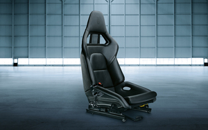 Sports bucket seat for passenger