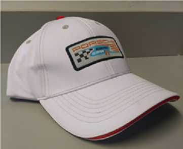 Rennsport White Hat With Patch