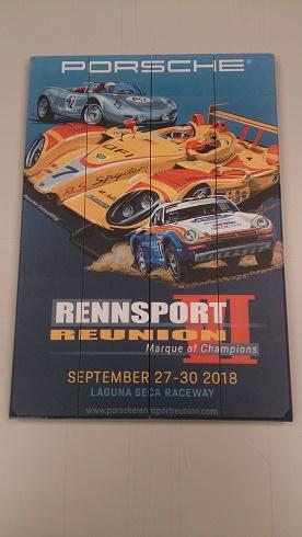 Rennsport Poster On Wood