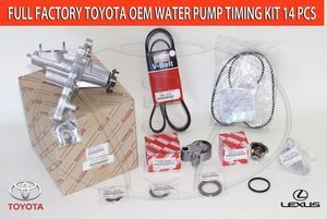 Lexus GS300-Full Toyota 14 Piece Timing Belt and Water Pump Kit