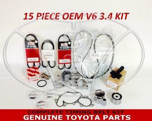 Toyota Timing Belt Kit with OEM Aisin Water Pump for 3.4 V6