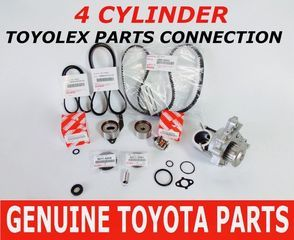 Toyota Camry- Genuine Toyota Timing Belt Kit with OEM Aisin Water Pump for 5SFE Engines