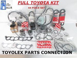 Toyota 44 Piece Timing Belt Kit with OEM Aisin Water Pump for 3.4 V6