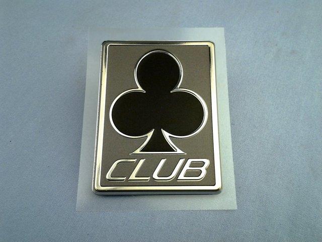 Club Trim Badge