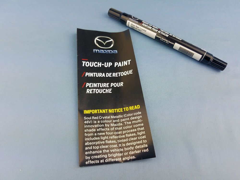 Touchup Paint Soul Red Crystal