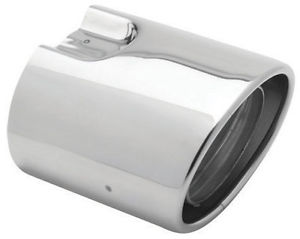 Stainless Steel Exhaust Tips, Single Exhaust - Subaru (D0510FG010)