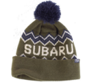 Subaru Green Knit Beanie