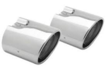 Forester Exhaust Tips PAIR Tail Pipe Cover 2009-2013