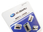 Subaru Aluminum Alloy Wheel Locks