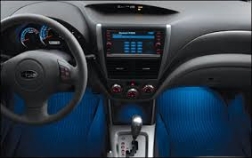 Forester Footwell Illumination Kit BLUE 2014-2018