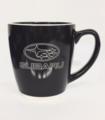 Subaru Ceramic Coffee Latte Mug Cup Black