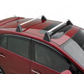 Impreza 2.0L Roof Fixed Cross Bar Kit 2012-2016