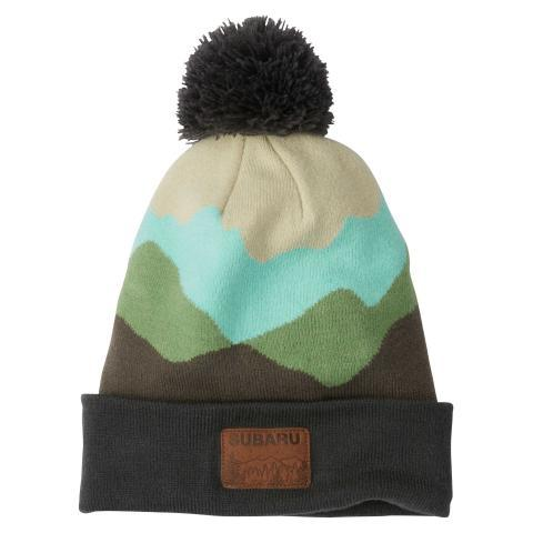 Subaru Knit Mountain Beanie