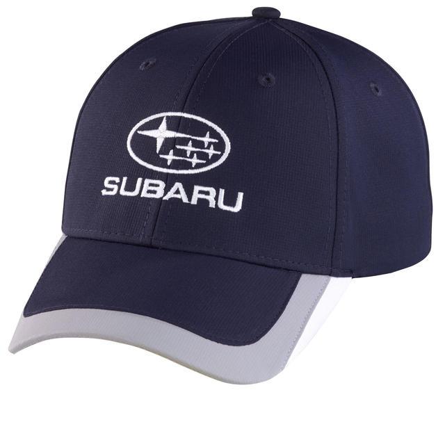 Subaru Navy Colorblock Cap