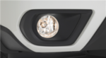 Subaru Forester Fog Light Kit, Black switch bezel - H4510SG110