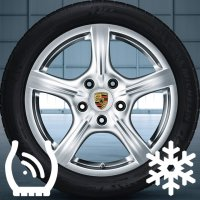 """18"""" Porsche Panamera Complete set of x4 wheels and & 4 Tires"""