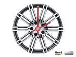 Porsche 911 Turbo wheel rim clock