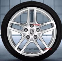 "19"" Porsche Cayenne Turbo III Wheels & Tire set"