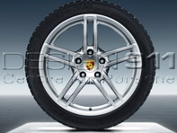 "Porsche 19"" 991 C2 / C2S Carrera Winter Alloy Wheels & Tires set of 4"