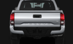 3rd Gen Tacoma Rear Paintable Bumper End Cap Kit