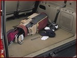Carpeted Cargo Mat - Light Charcoal 2 pc