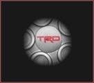 """TRD Wheel Cap for 18"""" 10-Spoke TRD Silver Wheel"""