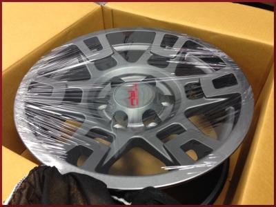 "TRD 17"" Off-Road Wheel - Graphite"
