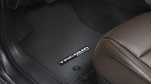 Carpeted Floor Mats - Black Limited AT