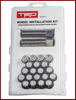TRD Wheel Installation Kit 12mm