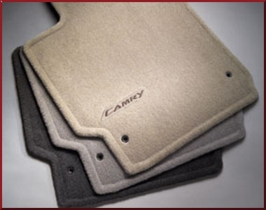 Carpeted Floor Mats, Brown, Bisque interior models