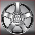 "20"" Machined Star 5-Spoke Alloy Wheel"