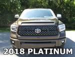 2018 Platinum Tundra Grille