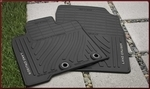 All-Weather Floor Mats 5-pc set Brown